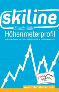 skiline Höhenmeterprofil und skimovies