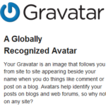 Gravatar - A globally recognized Avatar