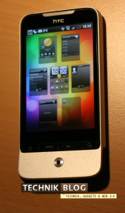 HTC Legend Homescreens