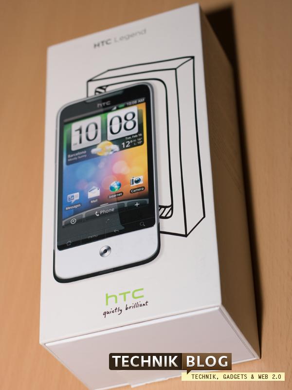 HTC Legend Verpackung