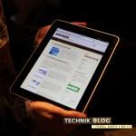 technikblog.ch auf dem iPad