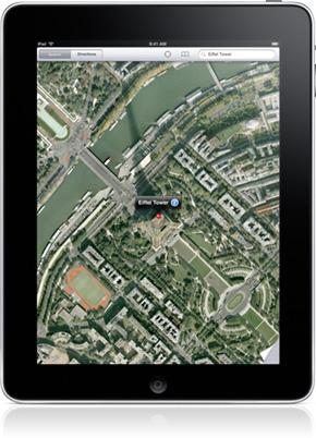 Apple navigiert zurück