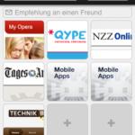 Opera Mini fürs iphone zugelassen