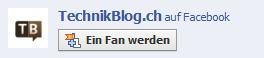 technikblog.ch auf facebook