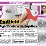 Benkö testet Cablecoms Digicard | Bild von benkoe.ch