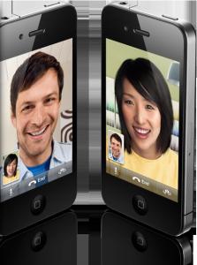 iPhone 4 Videotelefonie (c)Apple.com