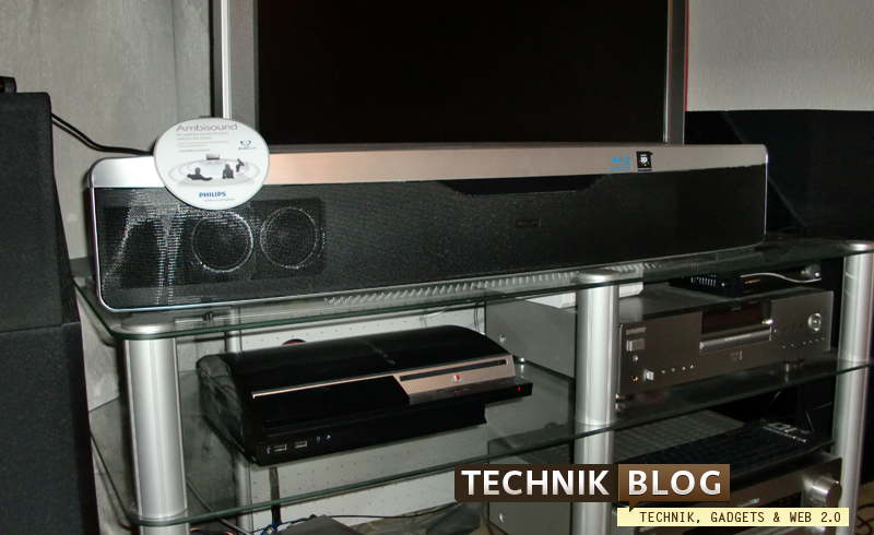 Philips Soundbar Testbetrieb
