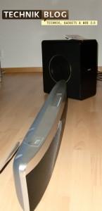 Philips Soundbar mit Subwoofer