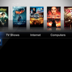 Apple TV Homescreen