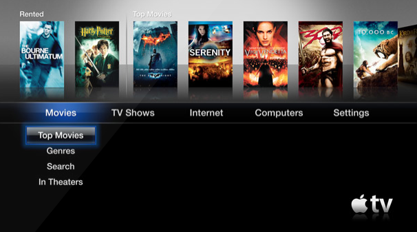 how to change from ethernet to wifi on apple tv