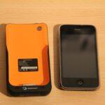 iPhone Zusatzakku mit Solarladefunktion