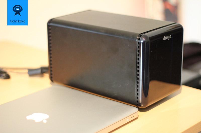 Drobo - geniales RAID-Storage mit Firewire 800