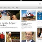 Schweizer Fernsehen mit neuer App