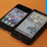 HTC Desire HD mit schönem Homescreen
