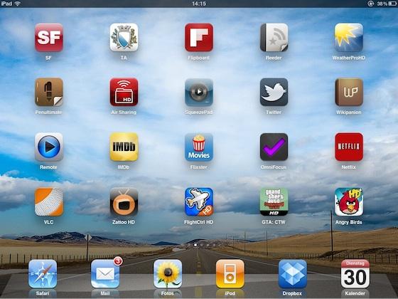 Meine meistbenutzten iPad Apps