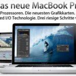 Neue MacBook Pro Modelle