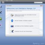 DiskStation Manager 3.0 Menü