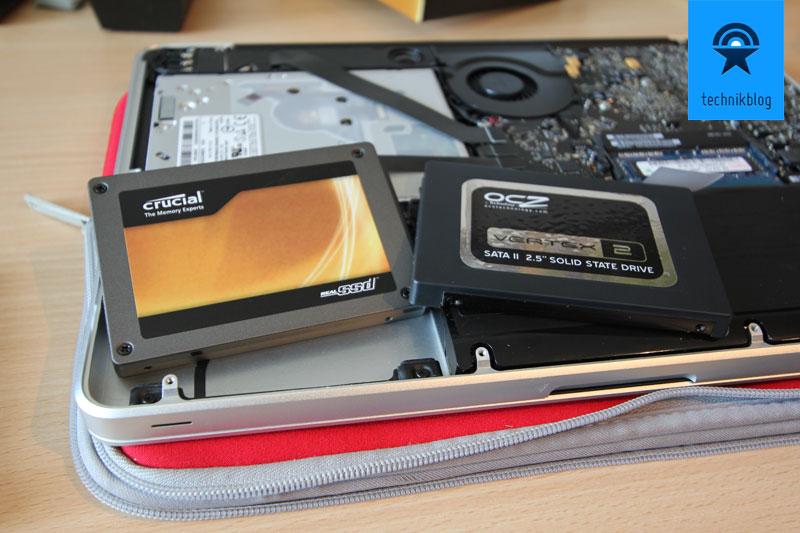 Crucial RealSSD C300 vs. Vertex 2 in MacBook Pro 2011