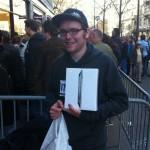 Einer der ersten mit dem iPad 2 - @greezer