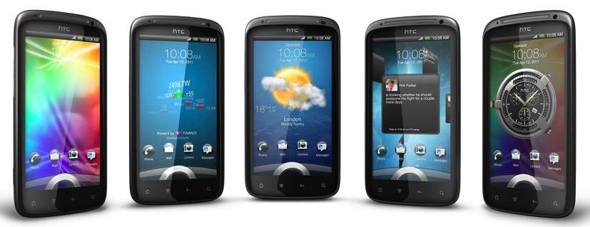 Die neuen Lockscreens des HTC Sense
