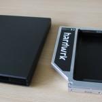 SATA Adapter von hardwrk und USB Case für SuperDrive