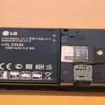 LG Optimus Speed - Rückseite