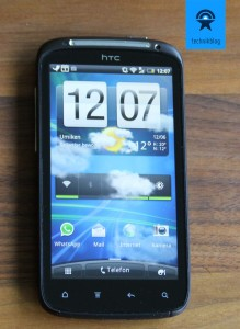 HTC Sensation - Gingerbread und Sense 3.0