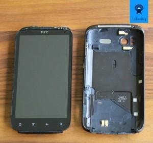 HTC Sensation und die unibody Abdeckung