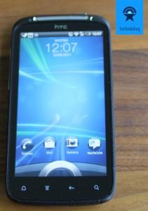 HTC Sensation und Sense 3.0 Lockscreen
