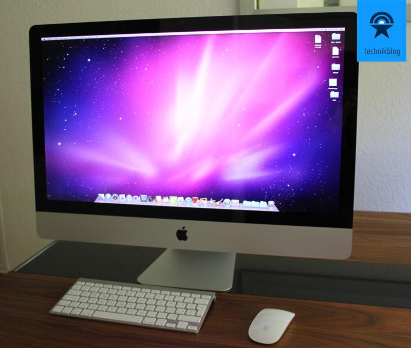"""iMac 27"""" - komplett mit geliefertem Zubehör"""