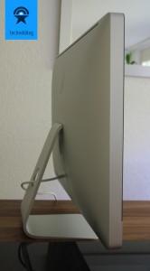 """iMac 27"""" - eigentlich ganz schmall für das was dahinter steckt"""