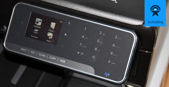 HP Officejet 8500A mit Touchscreen