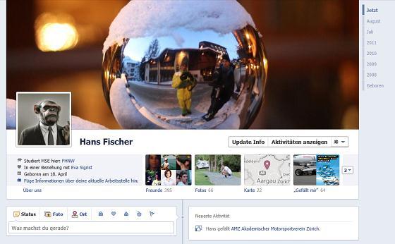 Facebook TimeLine Profil