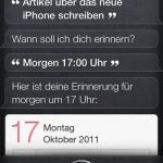 iPhone 4S Siri: Neue Erinnerung