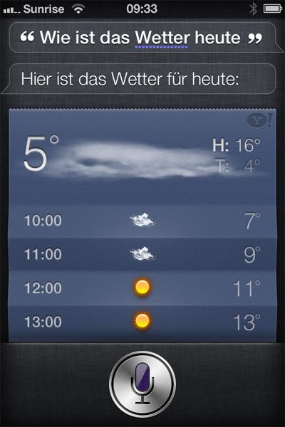 Wie Wetter Heute