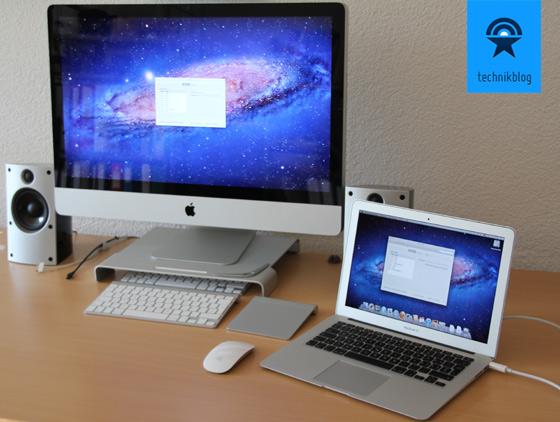 iMac über Thunderbolt als externes Display nutzen