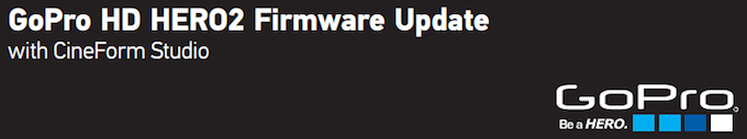 GoPro Firmware Update