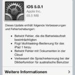 iOS 5.0.1 veröffentlicht – Akku sparen und iOS 5 geniessen