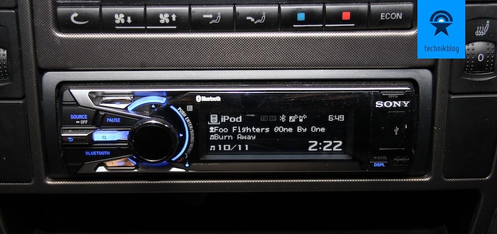 Sony DSX-S300BTX Autoradio Testbericht