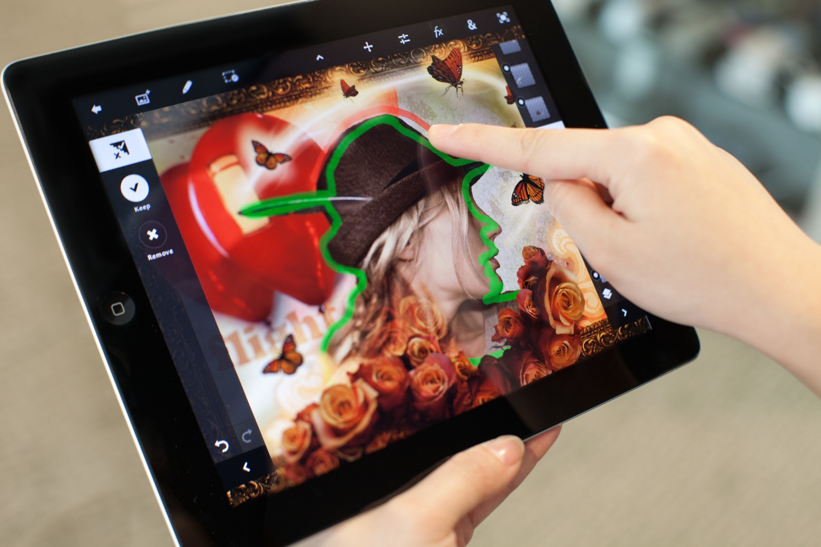 Adobe Photoshop Touch (c)Golem.de