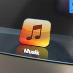 iPad 3 - Retina Display - Musik App