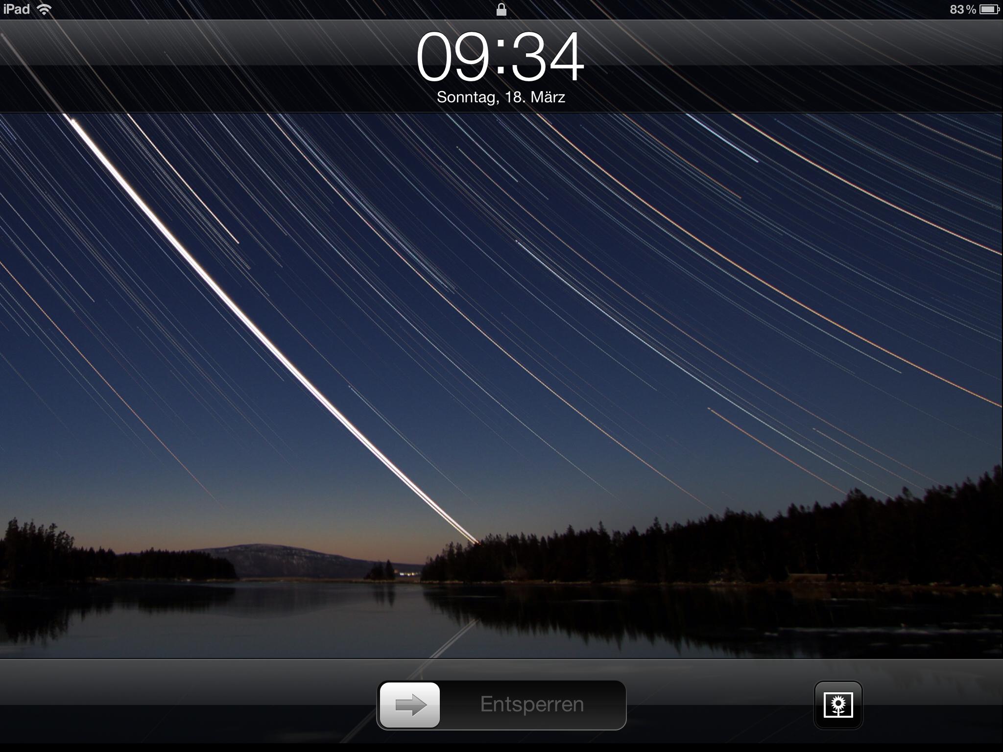 iPad 3 Wallpaper Stars