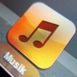 iPad - normales Display - Musik App
