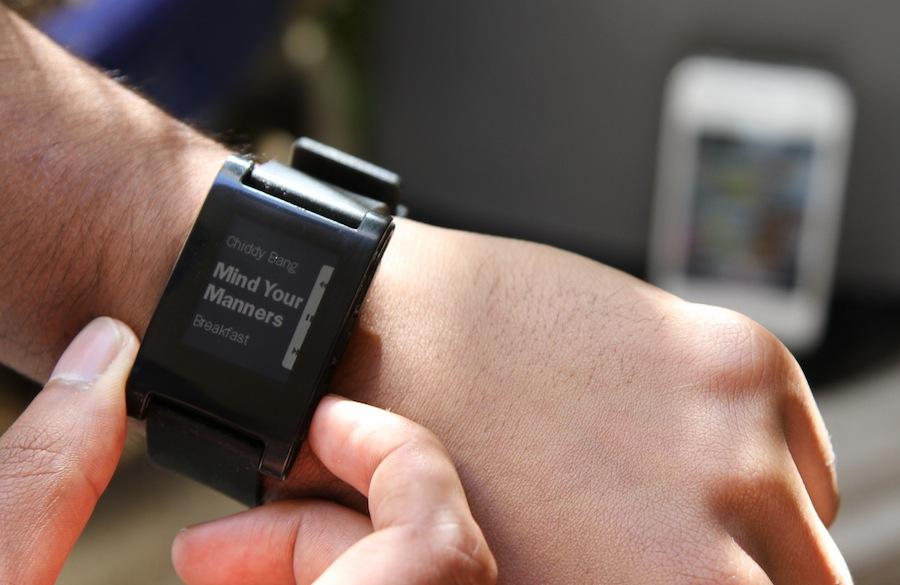 Pepple - Uhr für Smartphones