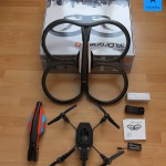Parrot AR.Drone 2.0 - Lieferumfang