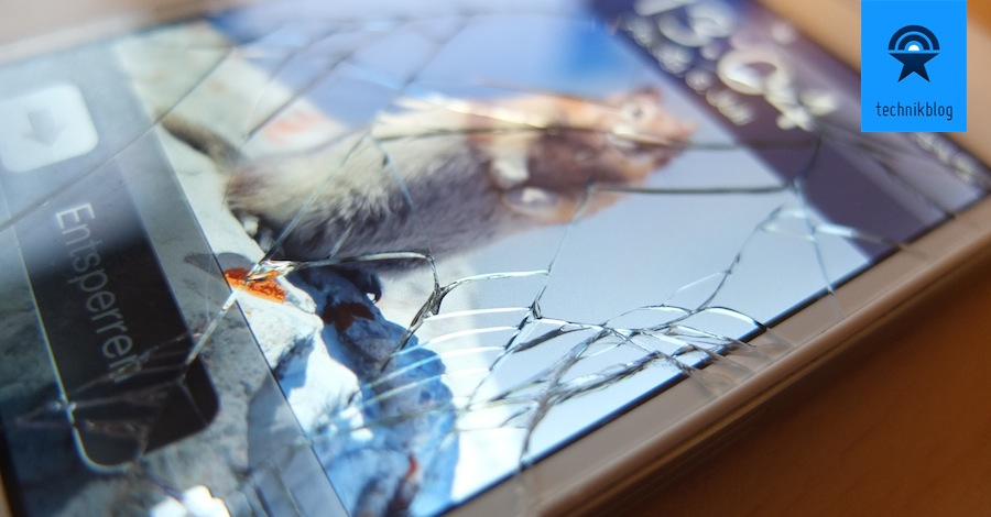 iPhone 4S Glas zerbrochen