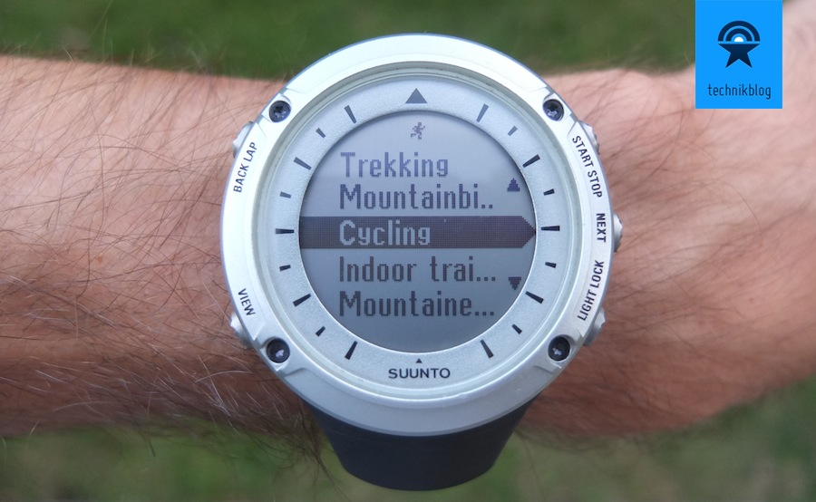 Suunto Ambit Review - GPS Uhr