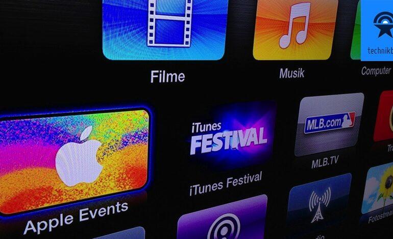 Apple Stream Apple TV Icon