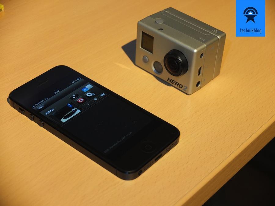 GoPro App für WiFi BacPac erschienen