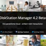 Synology zeigt DiskStation Manager 4.2 Beta
